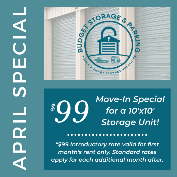 April 2021 Monthly Special
